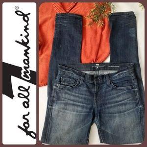 7 FOR ALL MANKIND ~ Skinny Denim Jeans  | 26